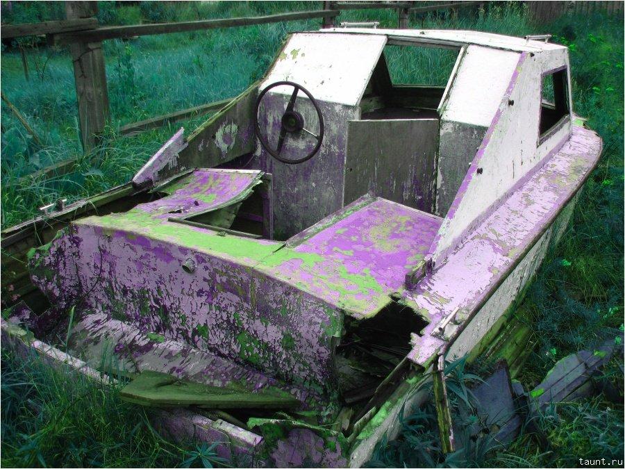 Старый катер