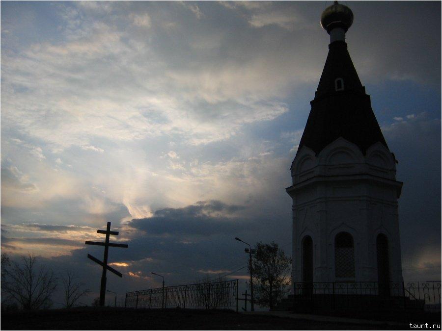 Часовня на Покровской горе