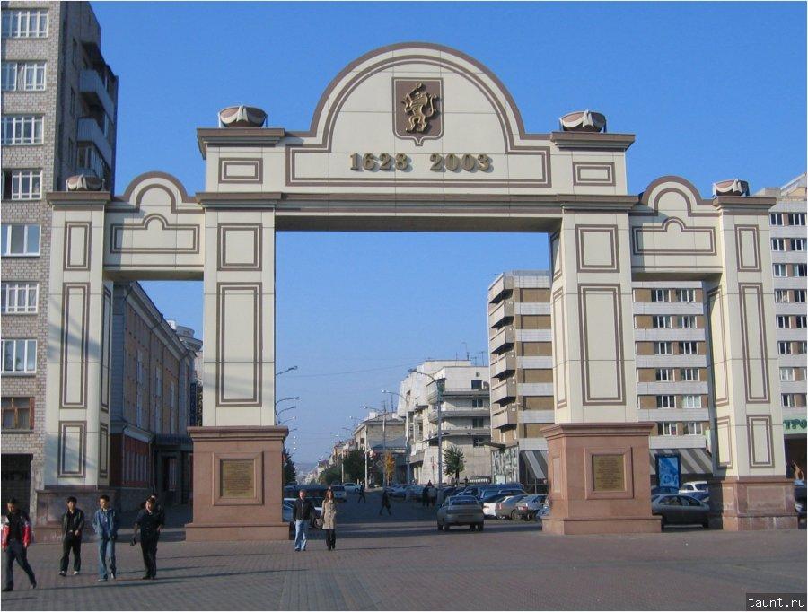 Исторические ворота города