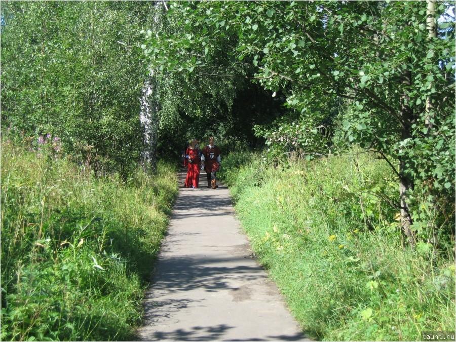 Дорога к парку Монрепо