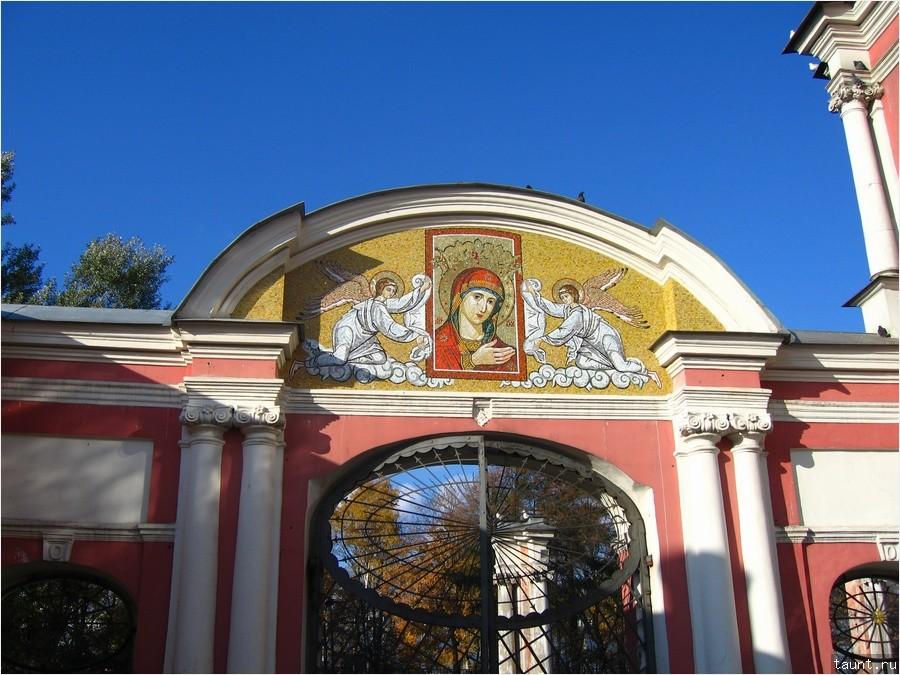ворота лавры