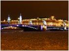 Дворцовый мост и Эрмитаж