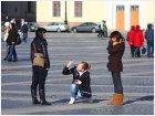Туристы на Дворцовой