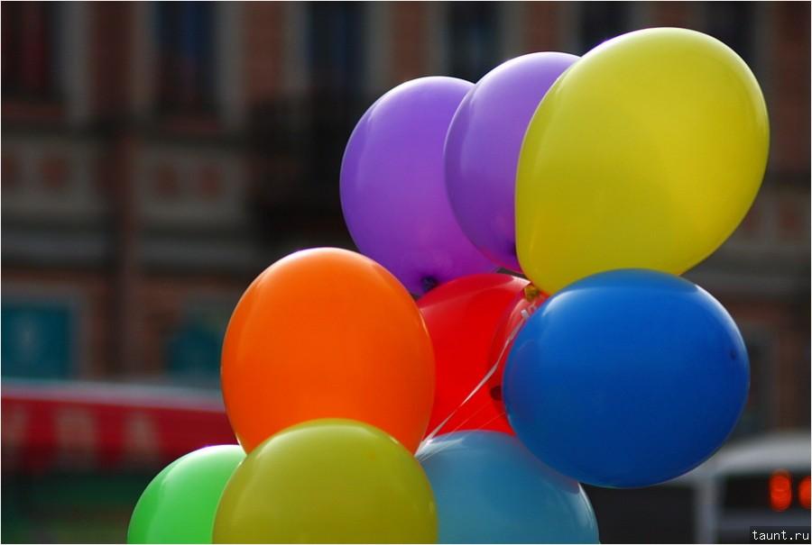 Круглое и разноцветное