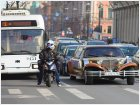 Троллейбус,  мотоцикл, лимузин