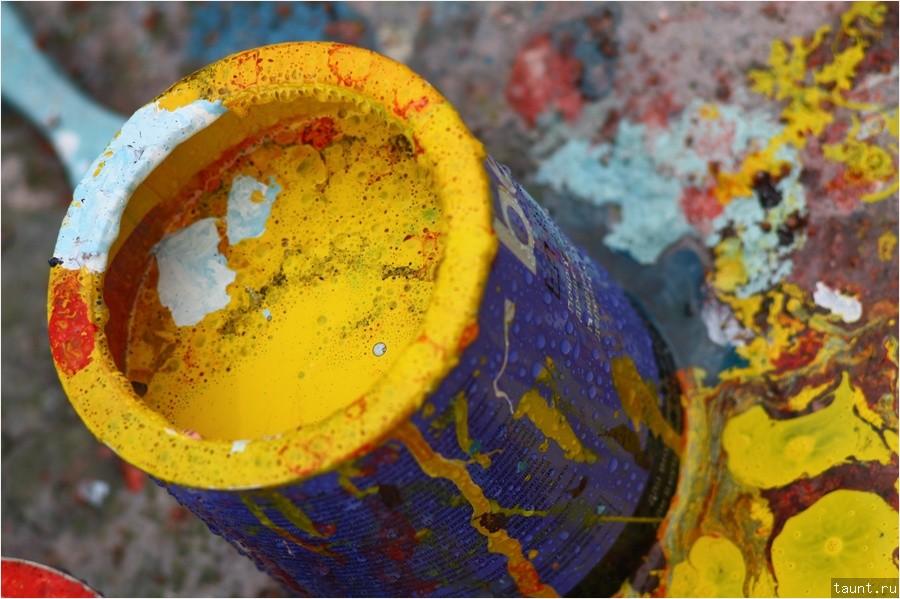 Краски с водой