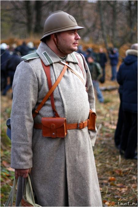 Бельгийский пехотинец