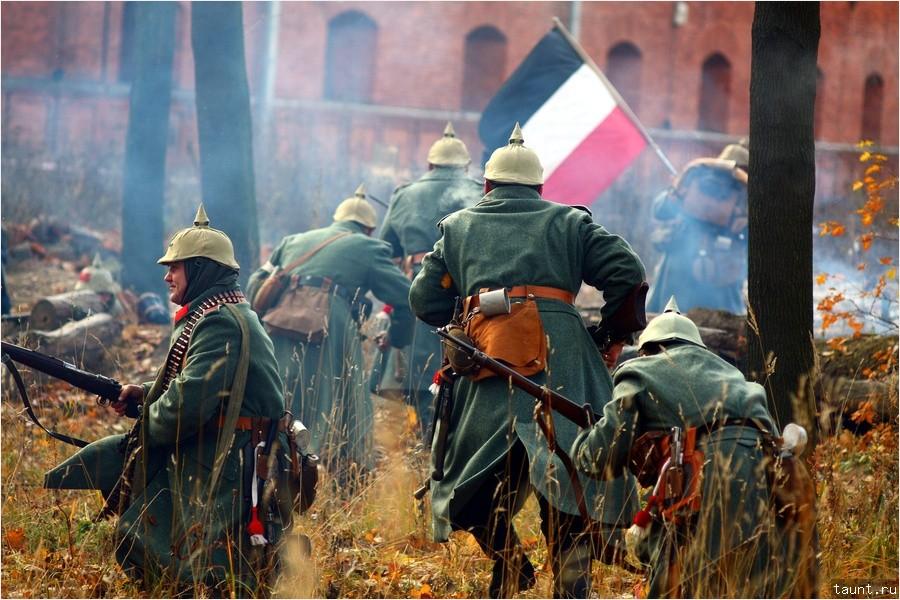 Немцы бегут