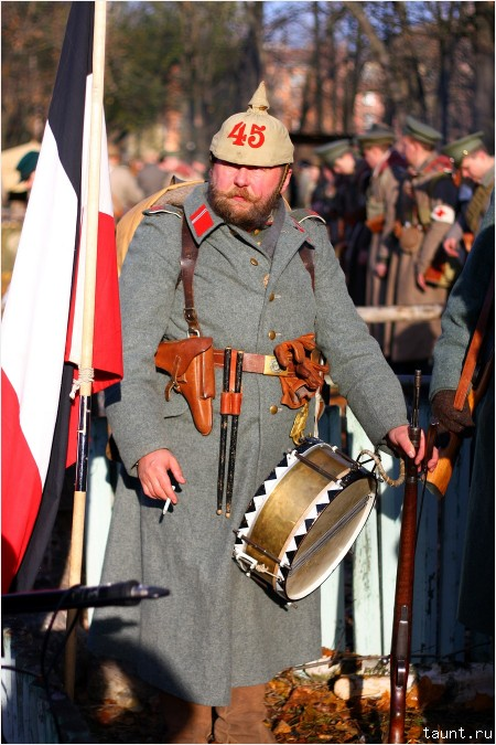Немецкий барабанщик