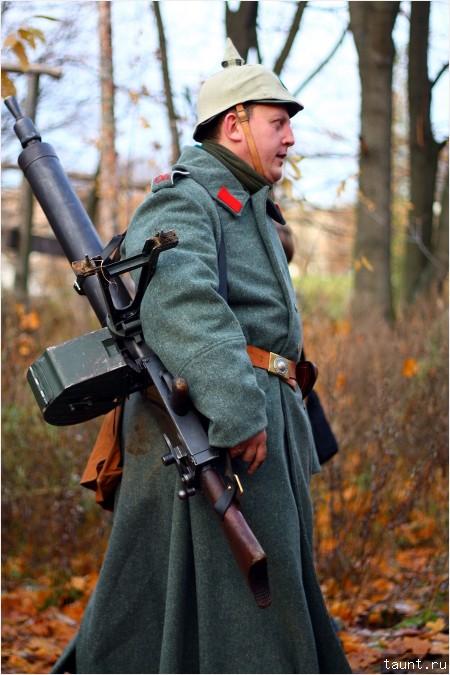 Немецкий пулеметчик