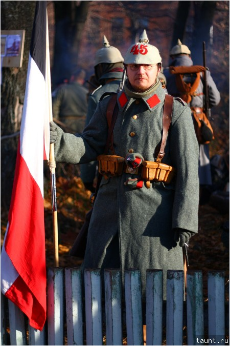 Немецкий знаменосец