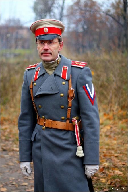 Офицер русской армии