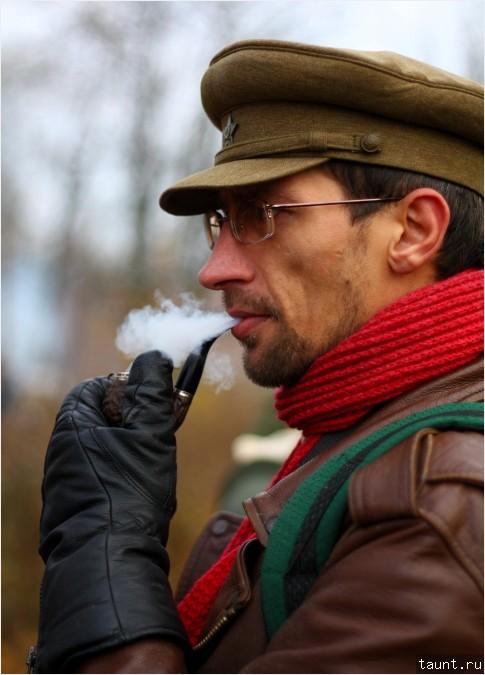 Офицер в советской форме