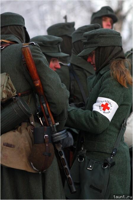 Медсестра немецкой армии