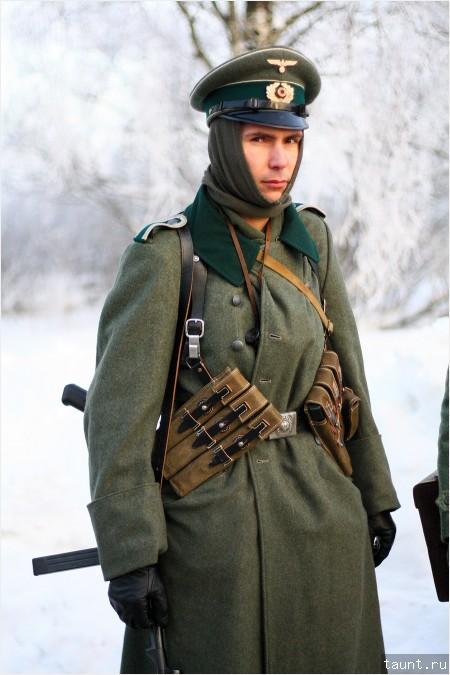 Снятие блокады Лениграда - Немецкий офицер , фото Петербург, блокада