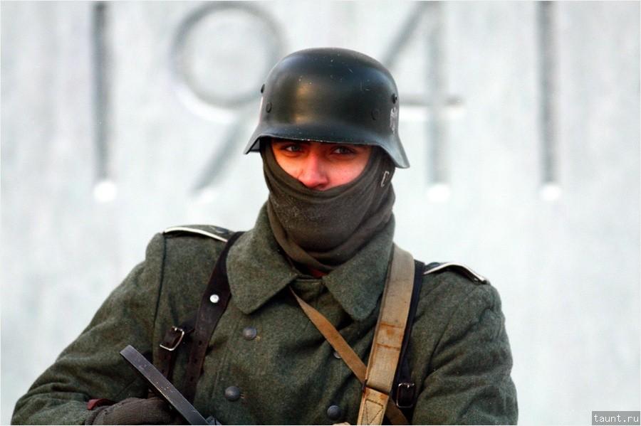 Немецкий солдат