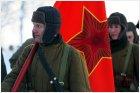 Советская армия выдвигается на позиции
