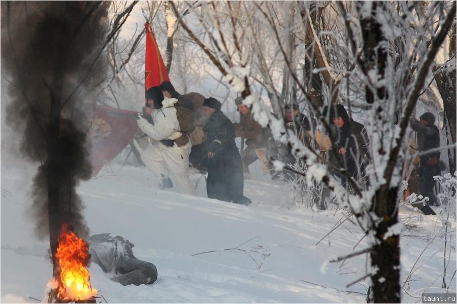 Вторая атака советской армии