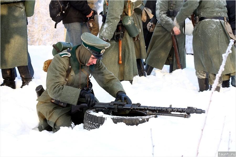 Заевший пулемет