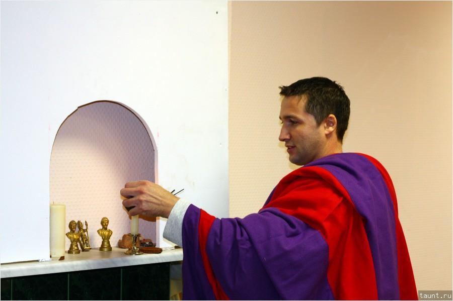 Обряд освящения жилища