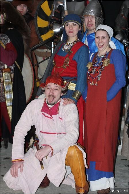 Средневековые гопники
