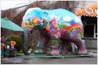 Разукрашенный слон