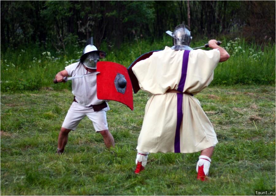Тренировка гладиаторов 1