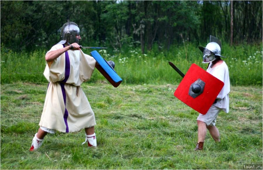 Тренировка гладиаторов 2