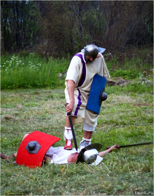 Тренировка гладиаторов 3