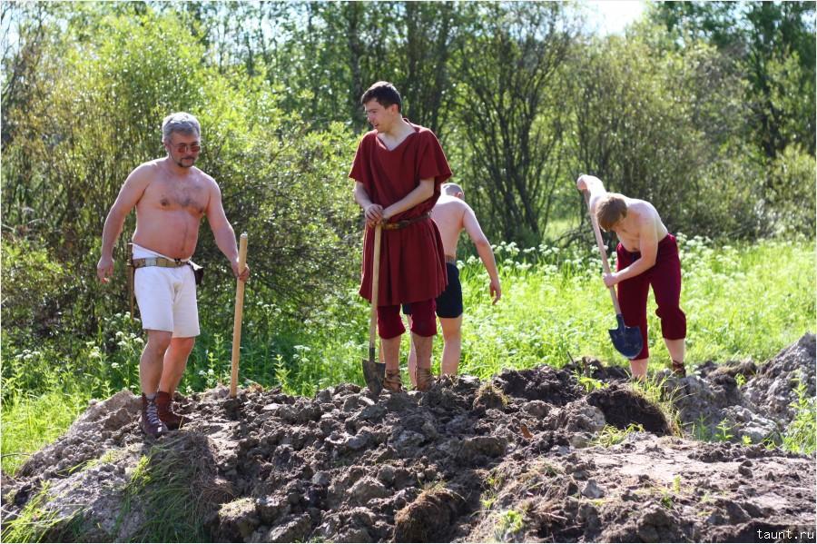 копаем ров