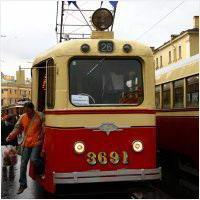 105 лет трамваю Санкт-Петербурга