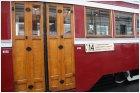 Деревянные двери в вагон