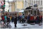 Инженерная улица с трамваями