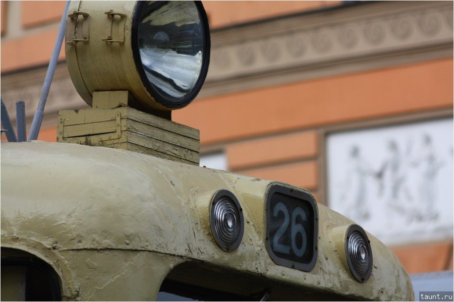 Прожектор на крыше