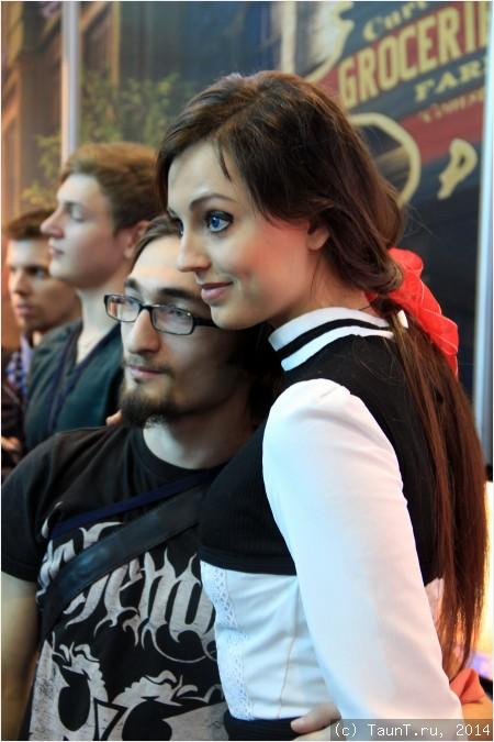 Анна Молева - лицо BioShock Infinite