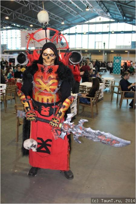 Chaos Champion из Warhammer 40000