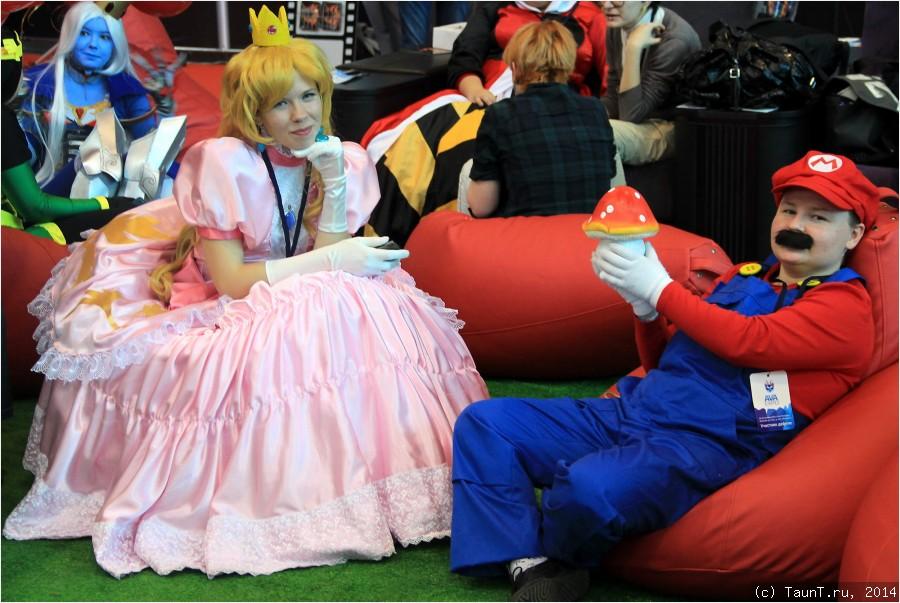 Принцесса и Марио