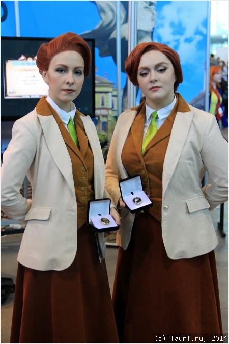 Роберт и Розалинда Лютес из BioShock Infinite