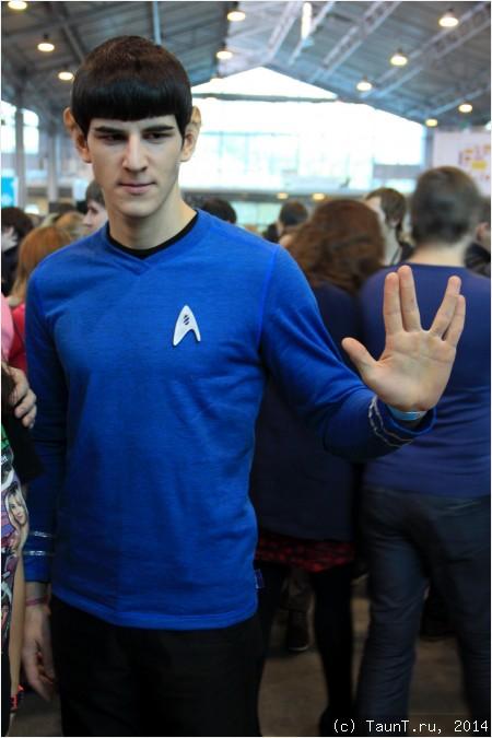 Спок из сериала Star Trek