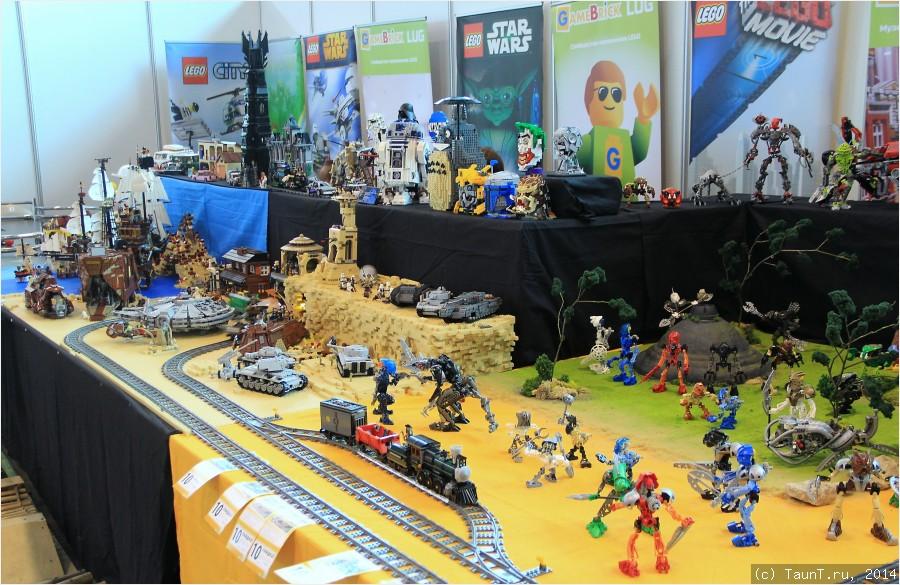 Стенд Lego