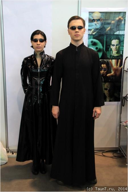 Тринити и Нео из The Matrix