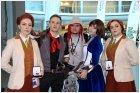 Я с персонажами BioShock Infinite