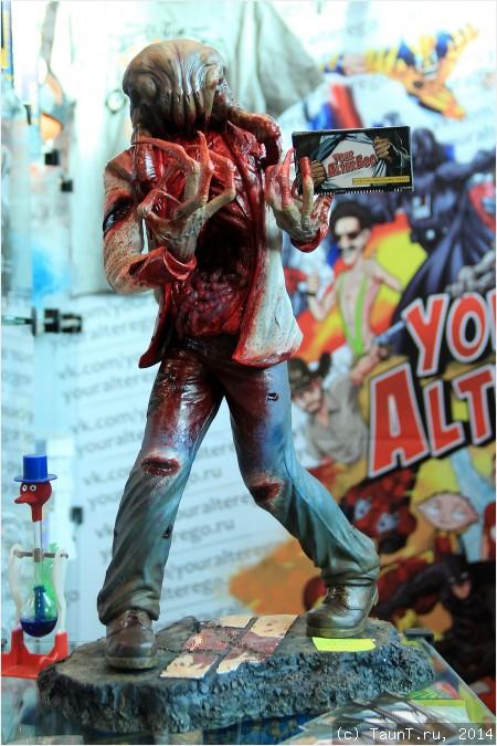 Зомби с хед-крабом из Half-Life