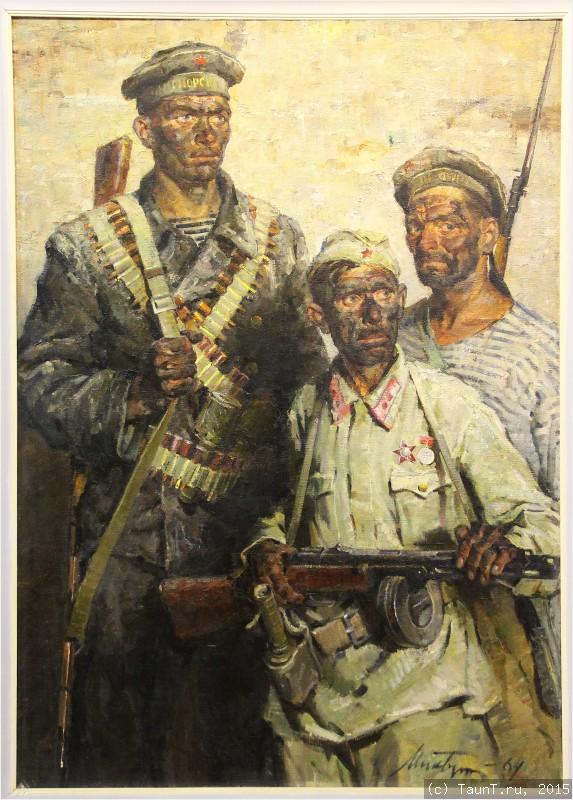 картина Аджимушкайцы