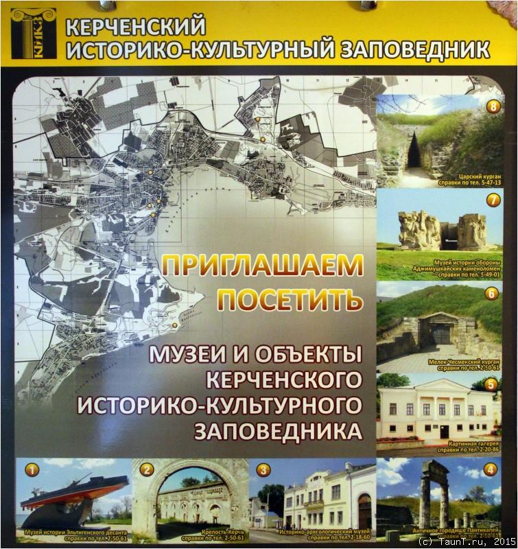 Музеи и объекты Керчи