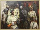 картина Солдаты подземного гарнизона