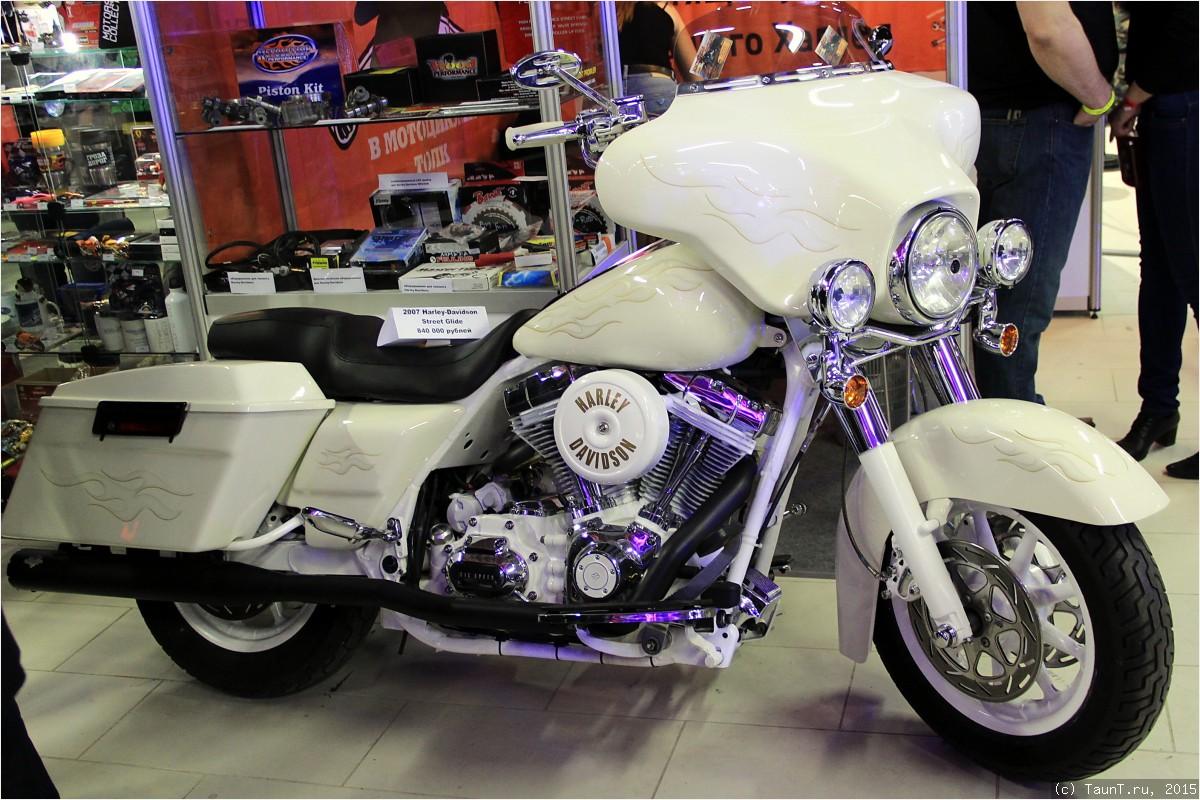 Белый Harley на продажу