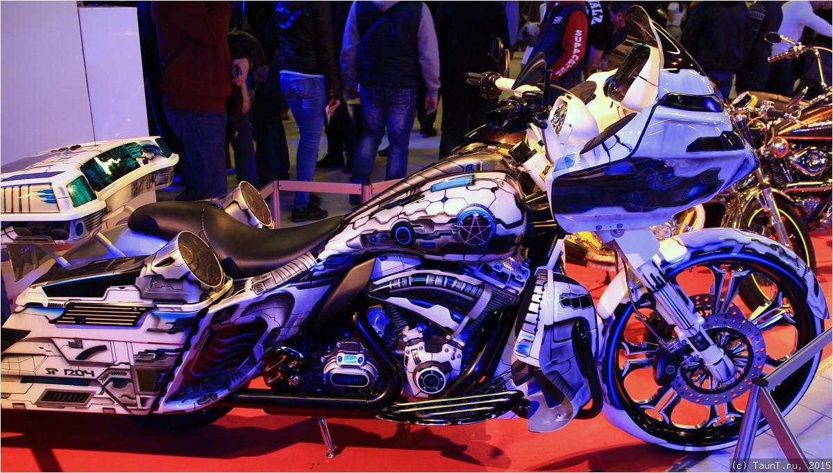 Мотоцикл День Космонавтики