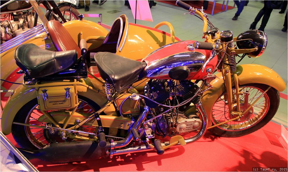 Мотоцикл Motosacoche 720