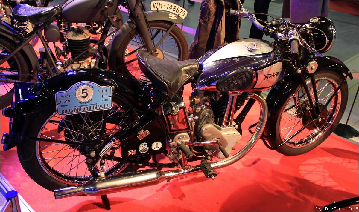 Мотоцикл Norton Mod 18
